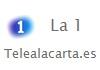 Play La 1 a la Carta